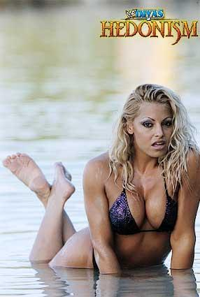 트리시 스트래터스 바탕화면 containing a bikini and skin entitled Trish Stratus Photoshoot Flashback