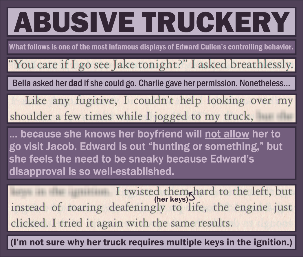 "Twilight ""mistakes"""