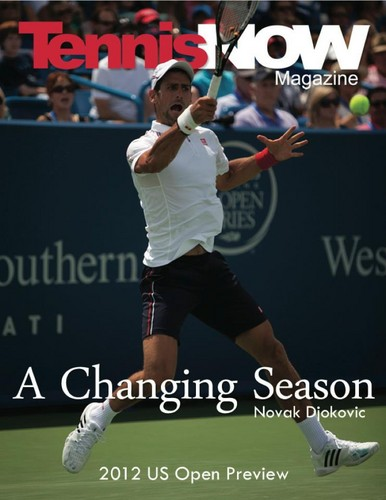 US Open Magazine Cover