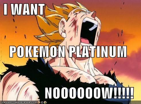 VEGETA WANTS POKEMON GAMES!