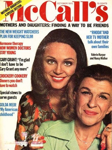 Valerie and Nancy Walker on the Cover of McCall's