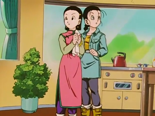 Videl and ChiChi