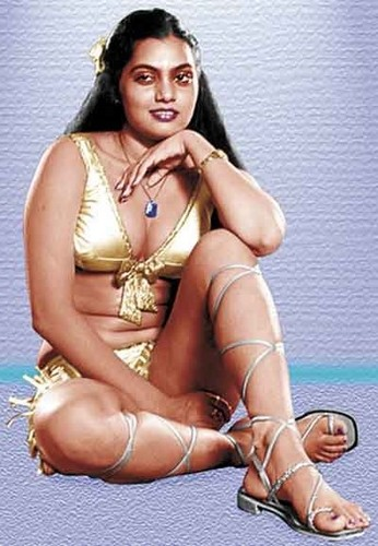 Vijayalakshmi Vadlapati-Silk Smitha (2 December 1960 – 23 September 1996)