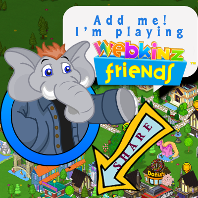 Webkinz Friends on Facebook!