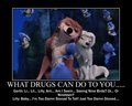 What drugs can do....
