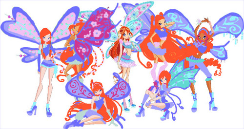 Winx Club fond d'écran titled Winx Club-Bloomix Believix (with Roxy)