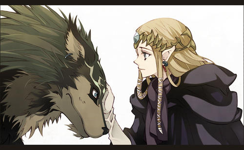 lupo Link and Zelda