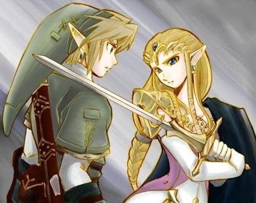 The Legend of Zelda wallpaper containing anime entitled Zelink