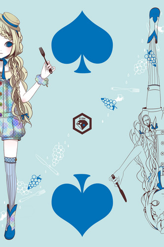 ऐनीमे girl cards