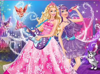 filmes de barbie wallpaper entitled barbie and pop estrela