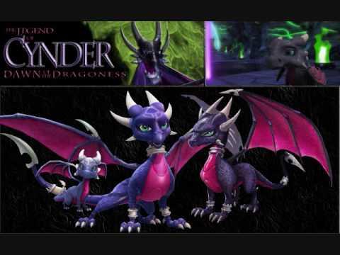 Cynder the Dragon Hintergrund with Anime titled cynder