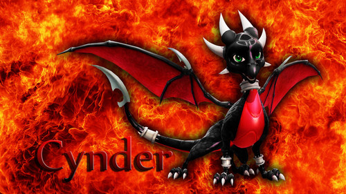 Cynder the Dragon Hintergrund called cynder