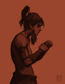 fan art by bryan konietzko - avatar-the-legend-of-korra fan art