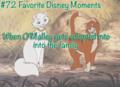 inayopendelewa Disney moments