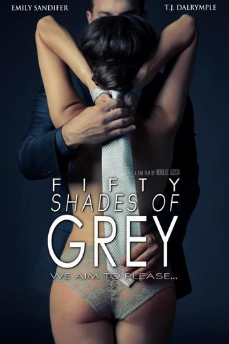 fifty shades of grey- 粉丝 art movie poster