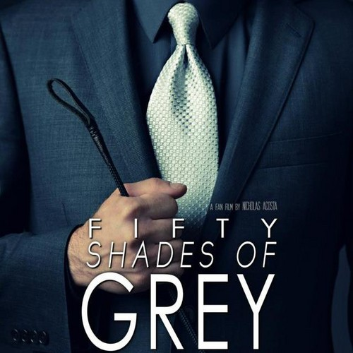 fifty shades of grey- Fan art movie poster