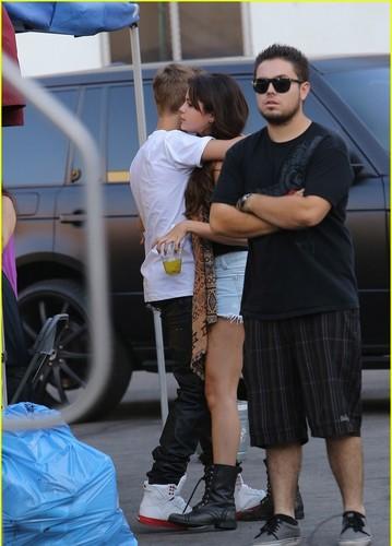 justin bieber & Selena, 2012