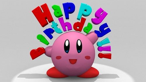 kirby happy birth день