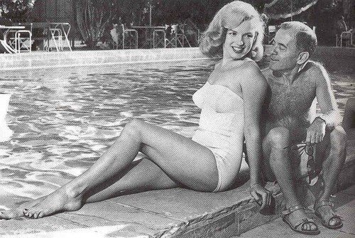 marilyn monroe and johnny hyde
