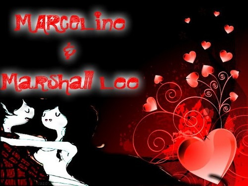 marshall lee and marcy <3