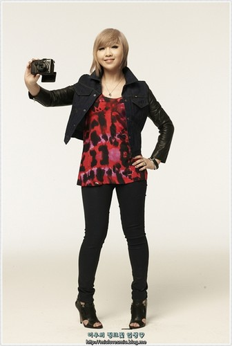 DARA 2NE1 wallpaper containing a well dressed person, a legging, and a hip boot entitled minzy 2NE1 nikon
