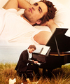 music means freedom to me<3 - robert-pattinson fan art