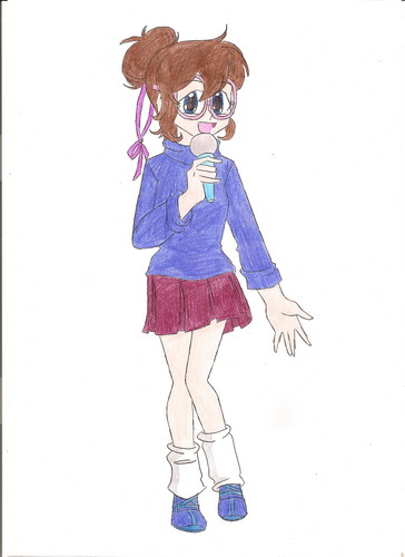 my drawing of jeanette