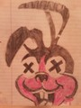 my drawing of the Awesome As F**k Bunny