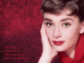never alone - audrey-hepburn wallpaper