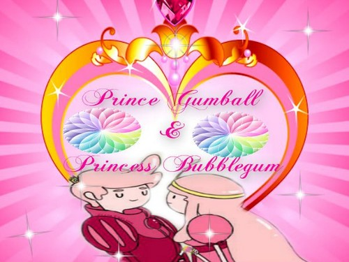 princess bubblegum and  prince gumball