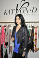 reveals her new fashion design collection in London - kat-von-d photo