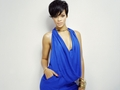 rih in blue for company magazine