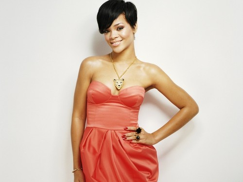 Rihanna wallpaper possibly with a dinner dress, a gown, and a strapless titled rihanna company magazine