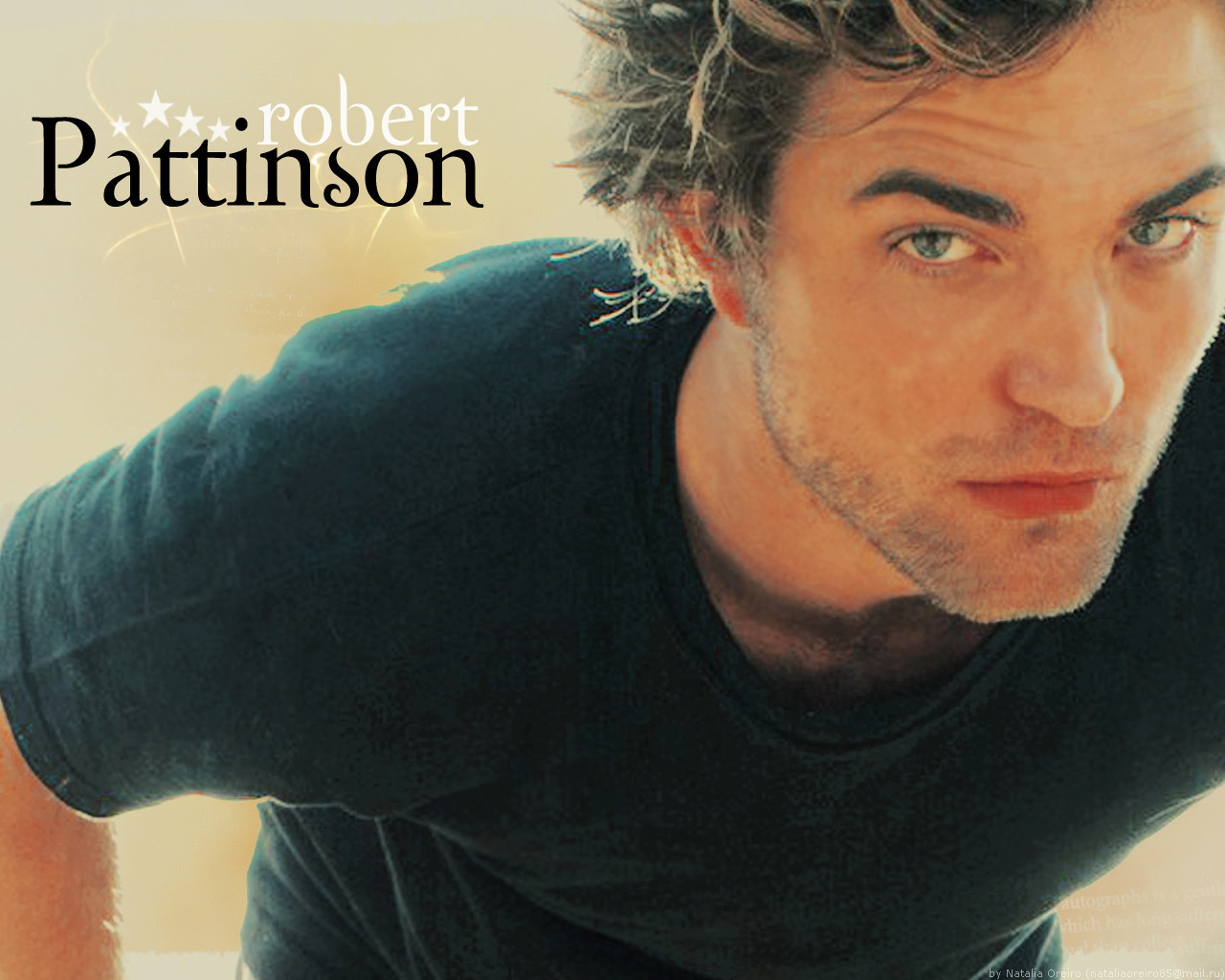 Robert Pattinson robert Robert Pattinson