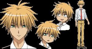 Takumi Usui x Misaki Ayuzawa karatasi la kupamba ukuta probably containing anime titled usuitakumi77