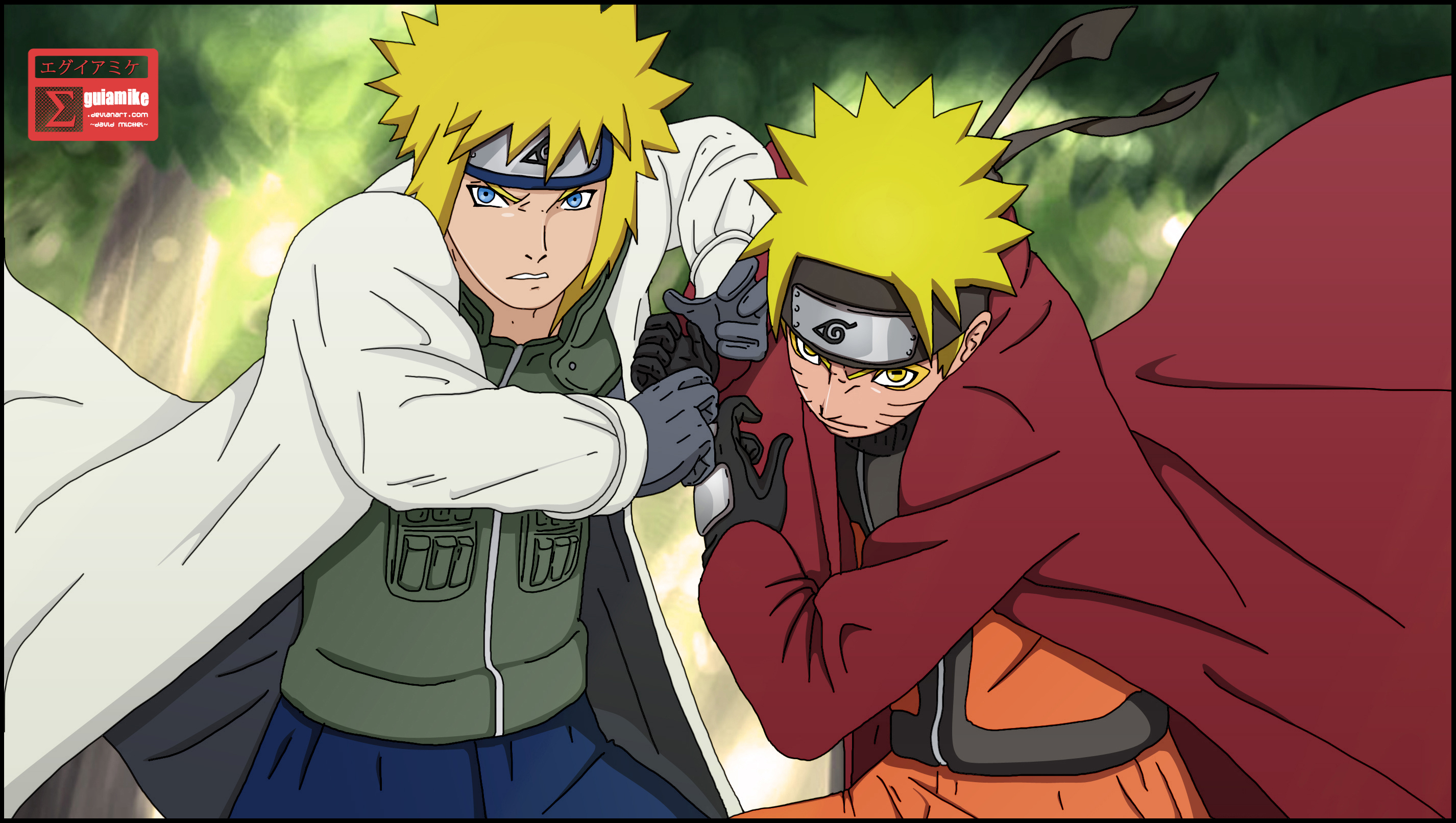 Is the 4th hokage naruto 39 s father poll results naruto - Dessin naruto akkipuden ...