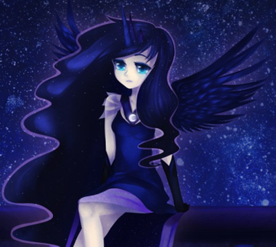 Princess Luna Human