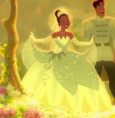 Princess And The Frog Tiana Green Dress