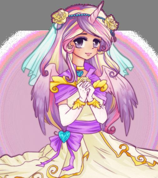 Princess cadence as a human