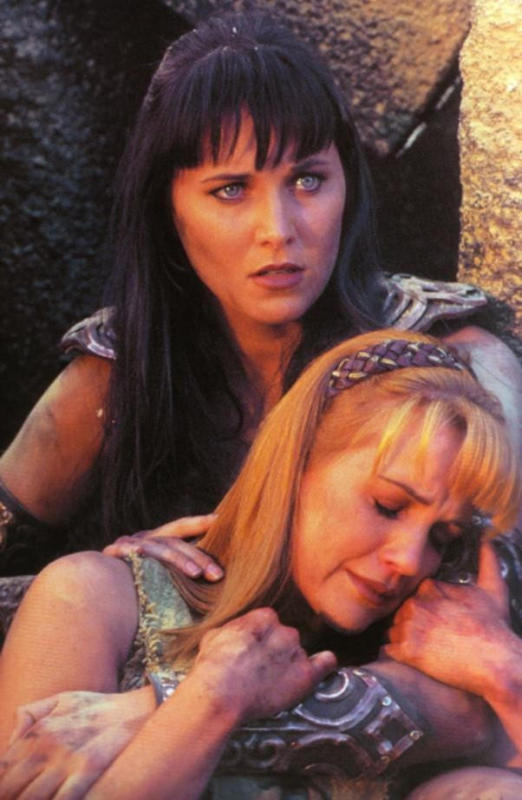 when Xena died, how do you think Gabrielle continued her ...