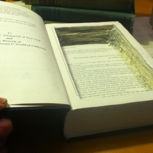 how to make a hollowed out book
