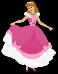 Cinderella S Ball Dress Made Pink Mice