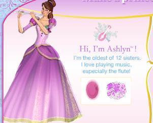 Genevieve Or Ashlyn Barbie In The 12 Dancing Princesses