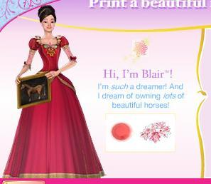 Blair Of Genevieve Barbie In The 12 Dancing Princesses Fanpop