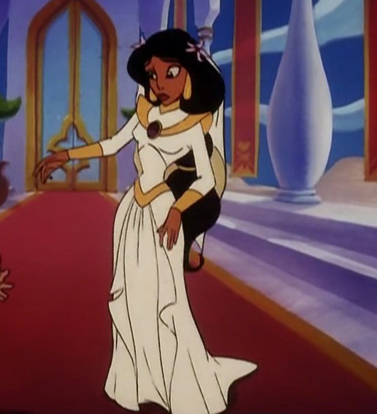 In honor of jasmine 39 s month which is your favorite for Princess jasmine wedding dress