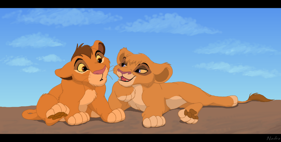 Lion king vitani and kopa