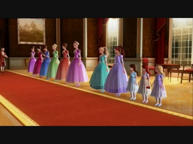 Will You Join Princess Courtney Club Barbie In The 12 Dancing
