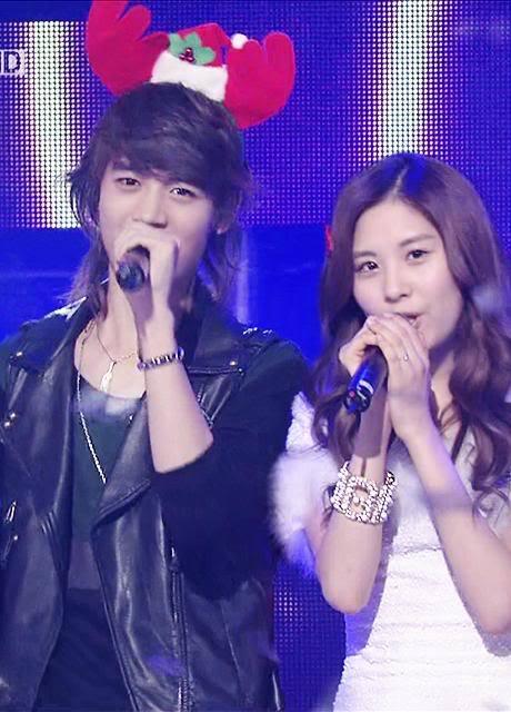 Seohyun and minho