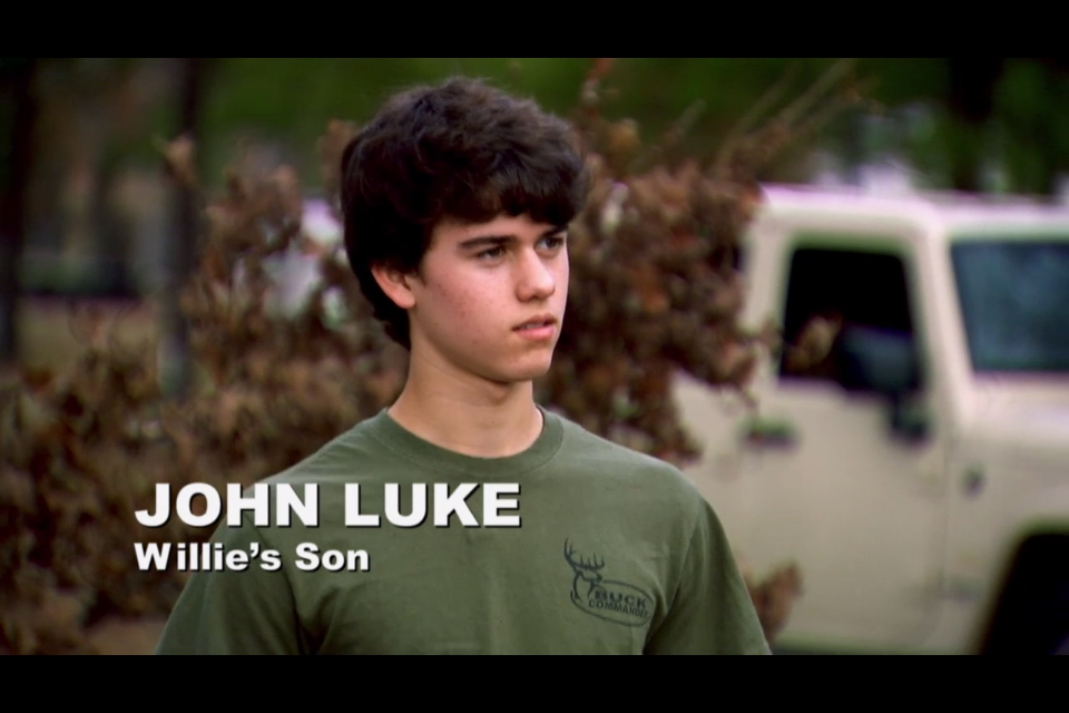 John Luke Robertson From Duck Dynasty
