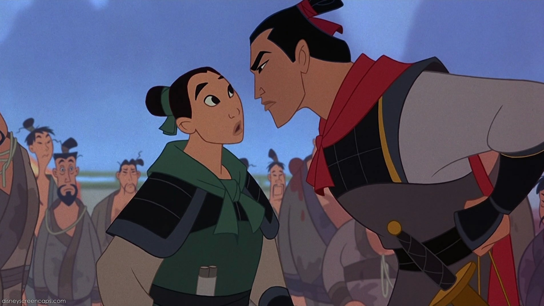 Mulan and Shang -The Training CampMulan Shang Training